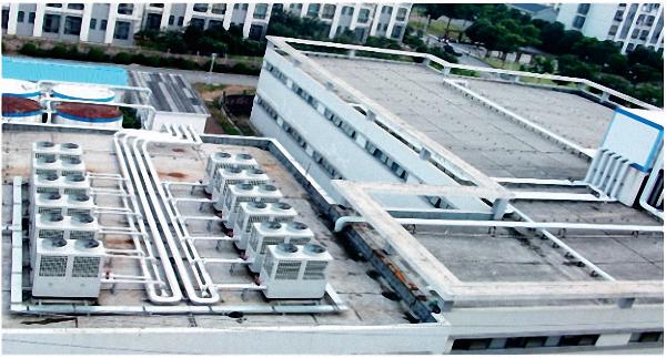 某学校集中供热/供冷空调节能系统工程