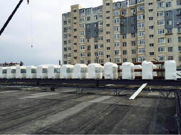 大连金玛购物广场商用空调工程