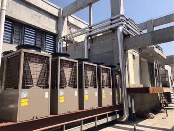 西安亚丁湾羽安酒店空调工程采暖项目